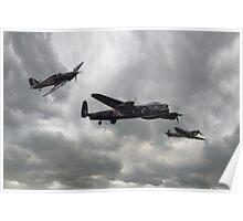 Battle of Britain Memorial Flight Poster
