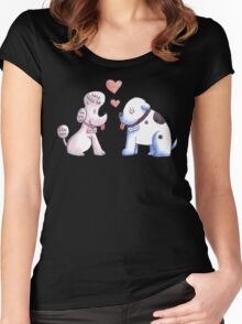 Butch and Muffin Women's Fitted Scoop T-Shirt