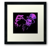 The Acid Test - El Iksir Framed Print