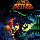 Super Metroid by cjunoxx