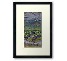 Across the strath Framed Print