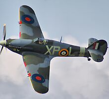 Hawker Hurricane - Dunsfold 2013 by Colin  Williams Photography