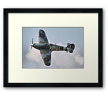 Hawker Hurricane - Dunsfold 2013 Framed Print
