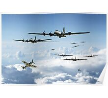 B17 Fortress Europe Poster