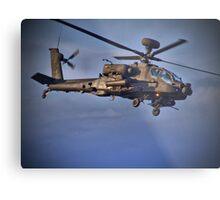 Apache Attack Chopper - Dunsfold 2013 Metal Print