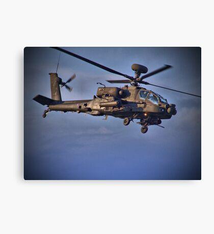 Apache Attack Chopper - Dunsfold 2013 Canvas Print