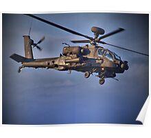 Apache Attack Chopper - Dunsfold 2013 Poster