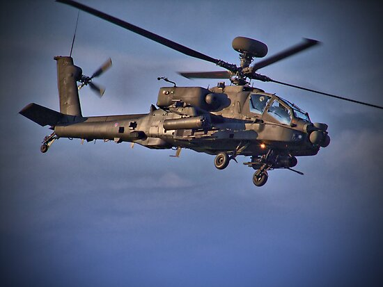 Apache Attack Chopper - Dunsfold 2013 by Colin  Williams Photography
