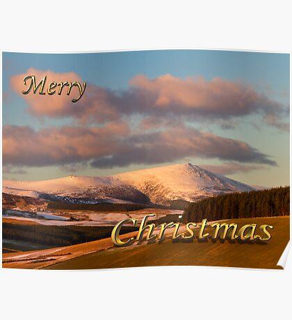 MERRY CHRISTMAS - BEN RINNES Poster