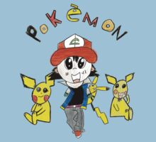 Daniel's Pokemon Design Kids Clothes