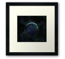 Spiritual Earth Framed Print