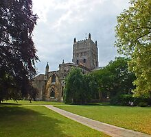 The Abbey Church of St Mary the Virgin by Yampimon