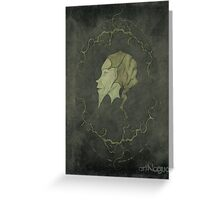 Nouvelle Art Fairy Greeting Card
