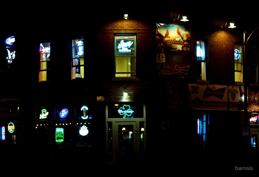 A Good Place To Get Either A Drink Or A Neon Sign by barnsis