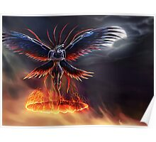 The Summoning of Bahamut - With Background! Poster
