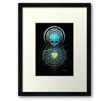 Visionary Skull  Framed Print
