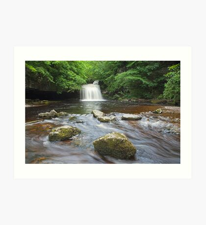 Cauldron Falls at West Burton Art Print