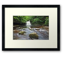 Cauldron Falls at West Burton Framed Print