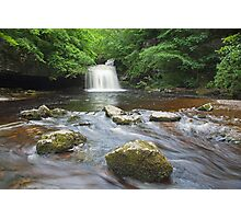 Cauldron Falls at West Burton Photographic Print