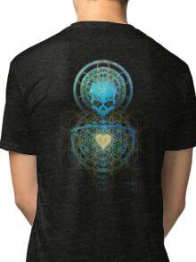 Visionary Skull  Tri-blend T-Shirt