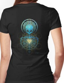 Visionary Skull  Womens Fitted T-Shirt