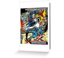 Frankenstein Greeting Card