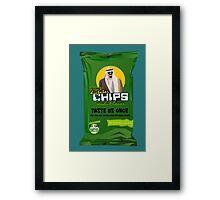 Dictator Chips Saudi Flavor Framed Print