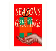 SEASONS GREETINGS 48 Art Print