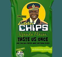 Dictator Chips Uganda Flavor by Virginie Moerenhout