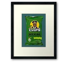 Dictator Chips Uganda Flavor Framed Print