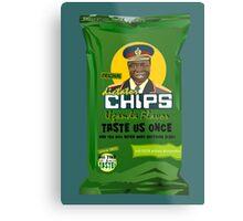 Dictator Chips Uganda Flavor Metal Print