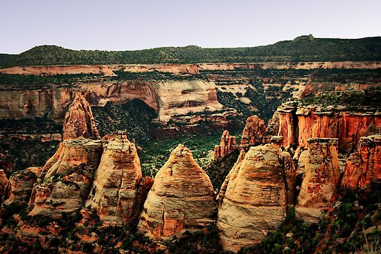 Colorado National Monument by Polly Peacock