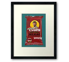 Dictator Chips Syria Flavor Framed Print