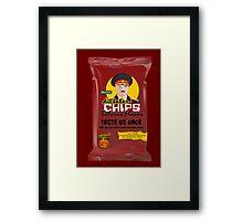 Dictator Chips Belarus Flavor Framed Print