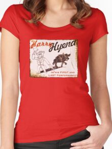 Harry Hyena Women's Fitted Scoop T-Shirt