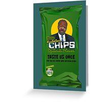 Dictator Chips Djibouti Flavor Greeting Card