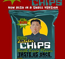 Dictator Chips: Micro Chips; North Korea Flavor by Virginie Moerenhout