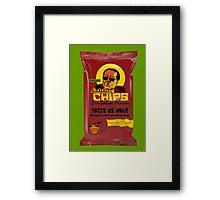 Dictator Chips Zimbabwe Flavor Framed Print