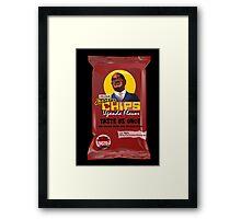 Dictator Chips Uganda Flavor; Mugabe Framed Print