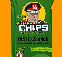 Dictator Chips Chile Flavor by Virginie Moerenhout