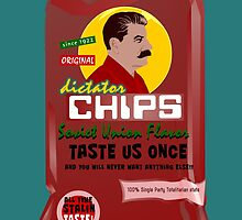 Dictator Chips Sovjet Union Flavor by Virginie Moerenhout