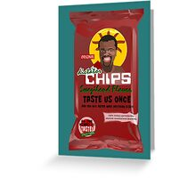 Dictator Chips Swaziland Flavor Greeting Card