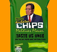 Dictator Chips Maladives Flavor by Virginie Moerenhout
