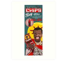 Dictator Chips Swaziland Flavor Cola Art Print