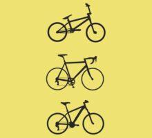 Bicycles (black) by hellomrdave