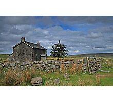Dartmoor farmhouse Photographic Print