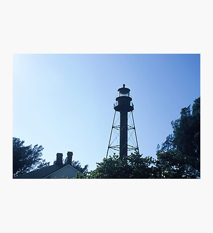 Sanibel Islaand Lighthouse Photographic Print