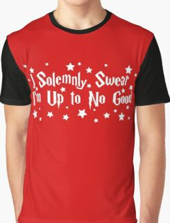 Harry Potter  i solemnly swear that i am up to no good Graphic T-Shirt