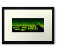 18 Hours Framed Print