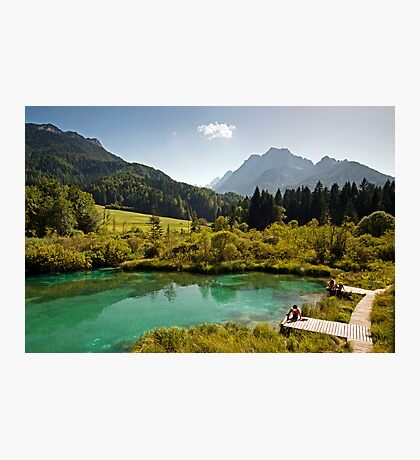 Natural Reserve Zelenci Slovenia Photographic Print